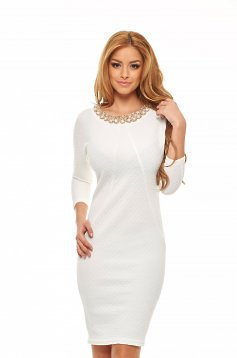 Rochie Fofy Fancy Cleavage White