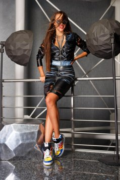Ocassion One Touch Black Skirt
