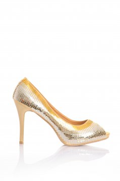 Disco Glow Gold Shoes