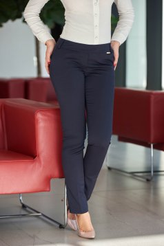 Fofy Smart Decision DarkBlue Trousers