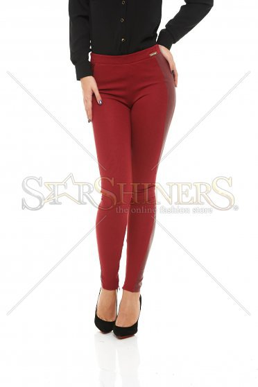 PrettyGirl Hamper Burgundy Tights