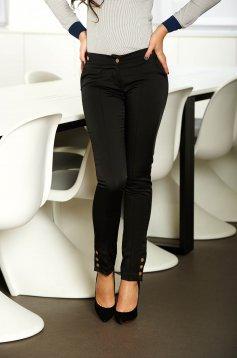Fofy Classy Worker Black Trousers