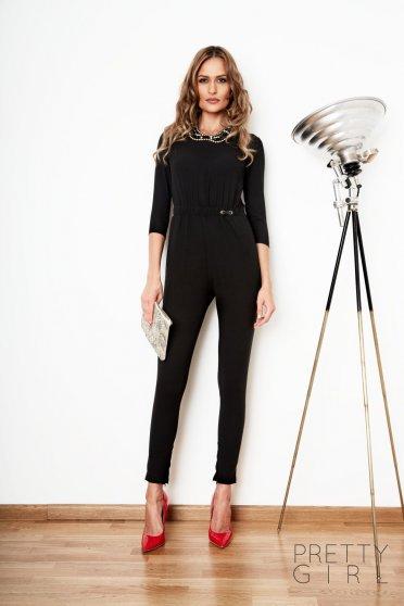 PrettyGirl Confident Black Jumpsuit