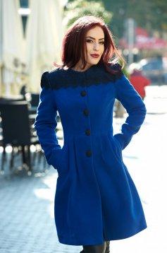 LaDonna Fresh Winter Blue Coat