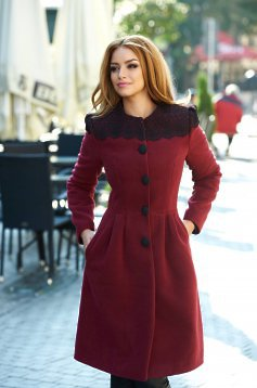 LaDonna Fresh Winter Purple Coat