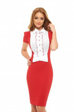 Artista Candy Bow Red Dress
