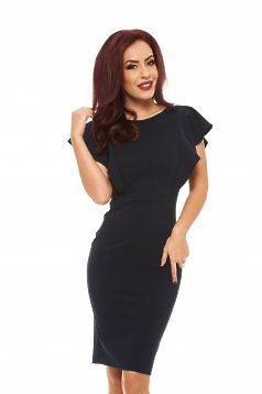 LaDonna Steady Veil DarkBlue Dress