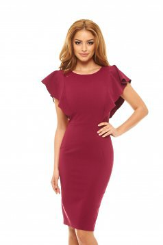 LaDonna Steady Veil Purple Dress