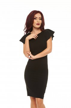 LaDonna Steady Veil Black Dress