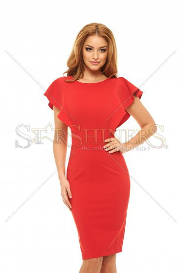 LaDonna Steady Veil Red Dress