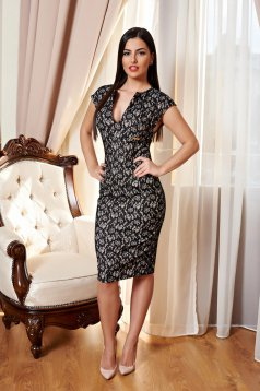 PrettyGirl Loveliness Black Dress