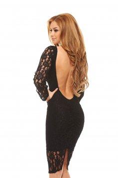 PrettyGirl Creative Black Dress