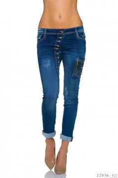 Frosty Choice Blue Jeans