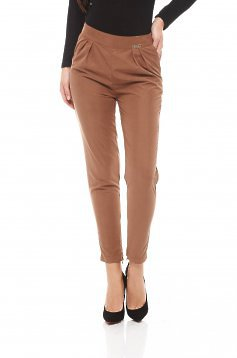 Pantaloni PrettyGirl Engaged Brown