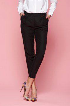 PrettyGirl Engaged Black Trousers