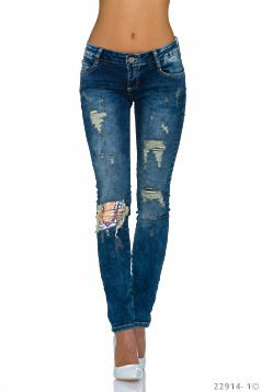 Dazzling Style Blue Jeans