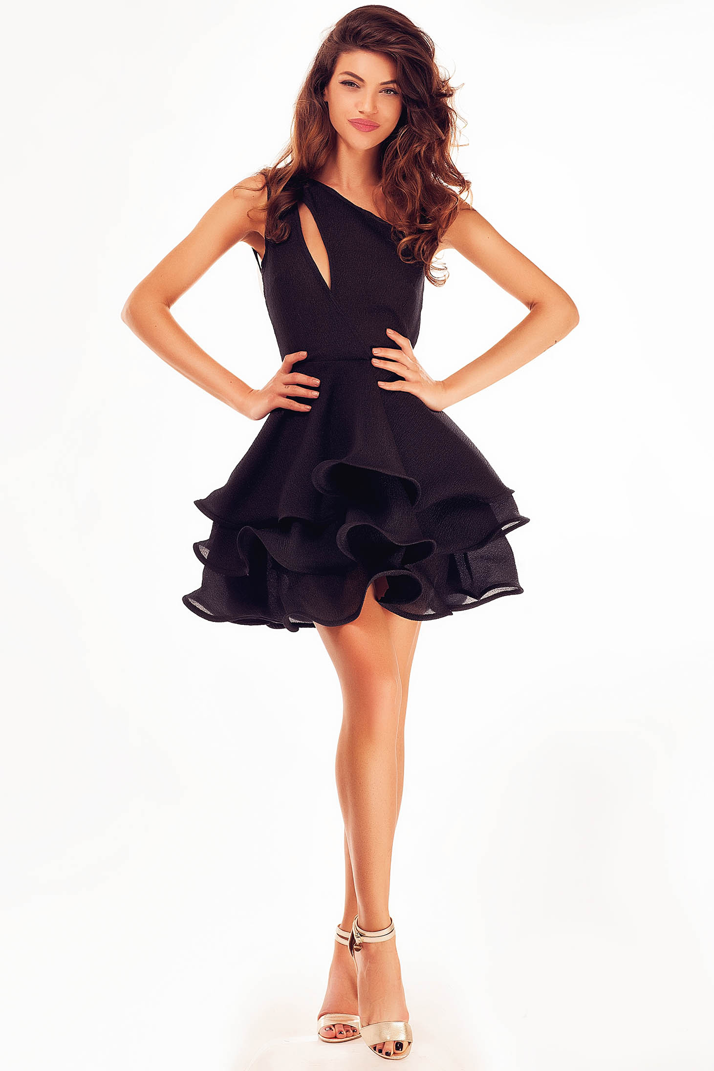 Rochie Ana Radu Popular Trend Black