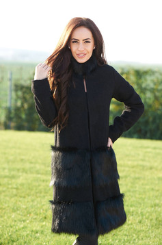Ana Radu Hot Senses Black Coat