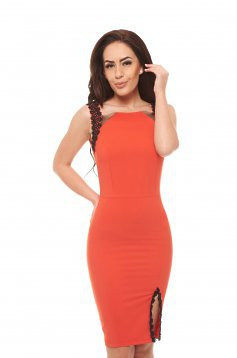 Artista Safety Feeling Coral Dress