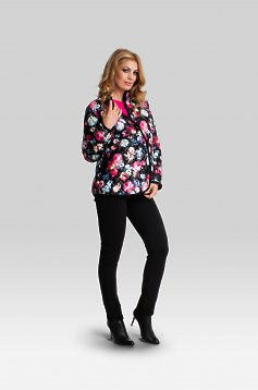 Kindness Black Maternity Jacket