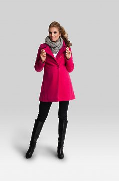 Affinity Pink Maternity Coat