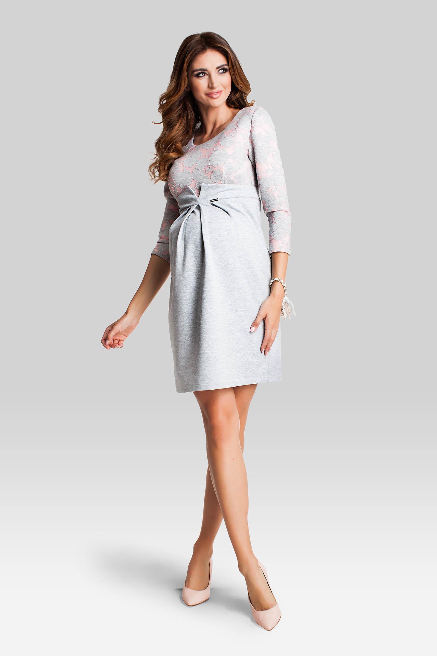 Rochie Pentru Gravide Loveliness Grey