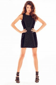 Ana Radu Brave Heart Black Dress