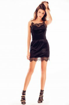 Ana Radu Sensual Attitude Black Dress