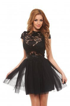 Fofy Party Nights Black Dress