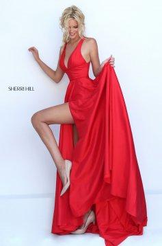 Sherri Hill 50296 Red Dress