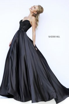 Sherri Hill 32084 Black Dress