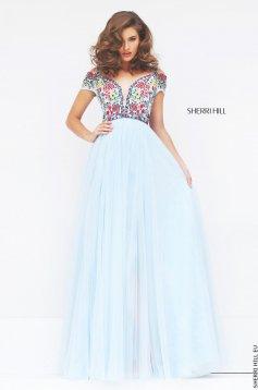 Sherri Hill 50151 LightBlue Dress