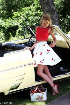 Sherri Hill 50234 Red Dress