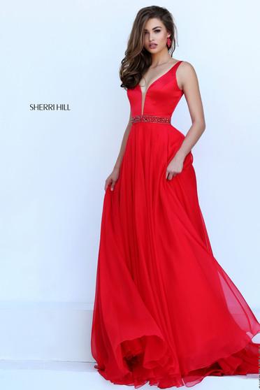 Sherri Hill 50264 Red Dress