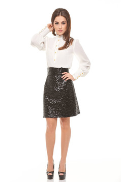 Ana Radu Glam Party Black Skirt