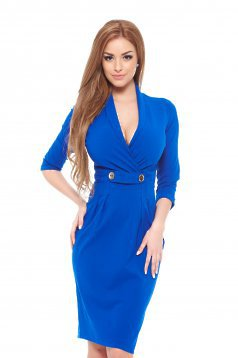 PrettyGirl Confident Blue Dress