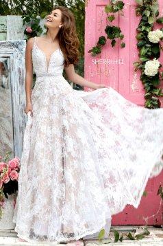Sherri Hill 11314 White Dress