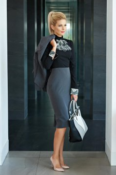 Fofy Commitment Grey Skirt