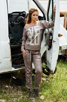 MissQ Trendy Side Brown Set