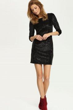 Top Secret Exquisite Black Dress