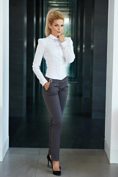 Fofy Allure Grey Trousers