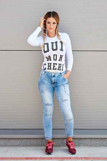 MissQ Personality Blue Jeans