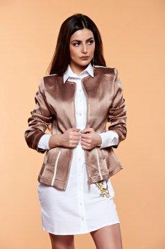 MissQ Perfect Fit Brown Jacket