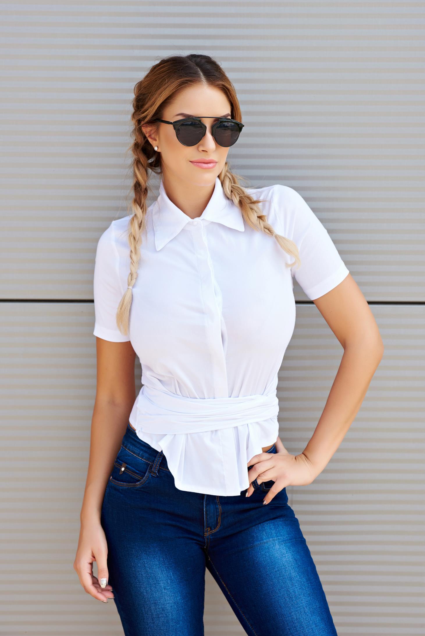 Artista Outside Look White Shirt