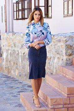 PrettyGirl Model Figure DarkBlue Skirt