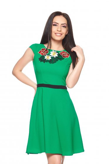 LaDonna Sunrise Green Dress