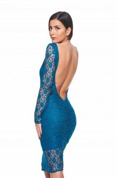 PrettyGirl Creative Turquoise Dress