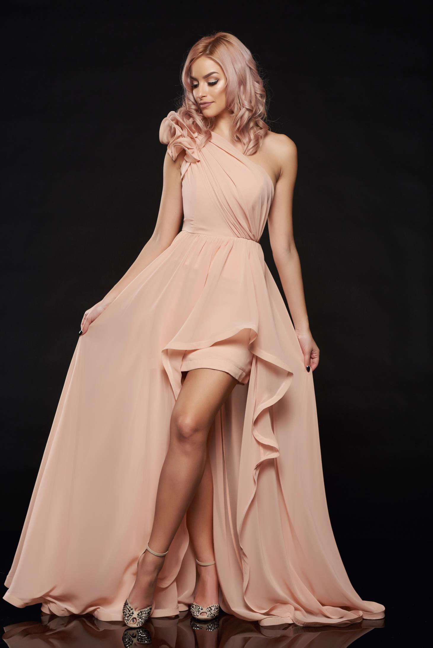 Ana Radu Angelic Look Peach Dress