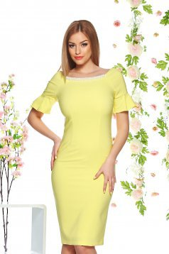 LaDonna Fine Lady Yellow Dress