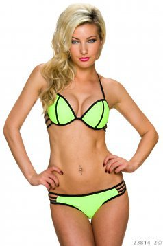 Cat Eyes Green Swimsuit